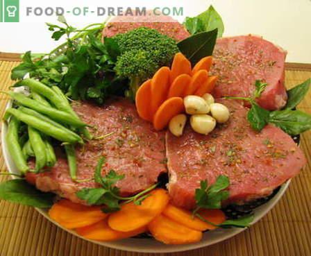 Carne al horno - las mejores recetas. Cómo cocinar adecuadamente y sabrosa la carne en el horno.