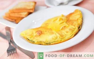 Przepyszne przepisy na to, co można szybko i łatwo przyrządzić z jaj. Lekkie śniadania, przekąski i desery, które można szybko zrobić z jajek