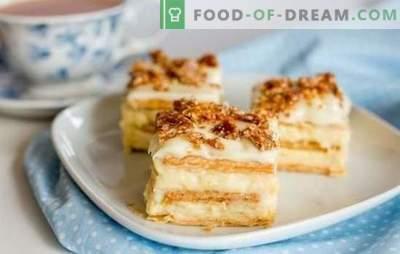 Cum să faci un tort original de la biscuiți fără coacere. Delicioase nu-se coace biscuiti: rețete rapide și ușoare