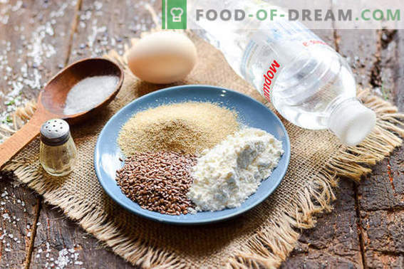 Pyszne naleśniki z otrębów owsianych z nasionami lnu