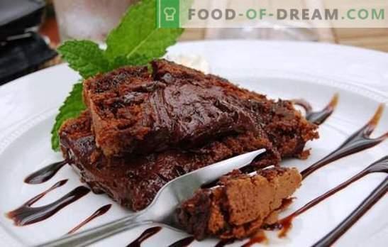 Brownie w wolnej kuchence - na czekoladowe słodkie zęby! Różne przepisy na niesamowity deser brownie w wolnej kuchence