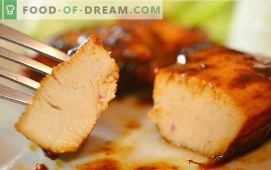 Kurczak w sosie sojowym - najlepsze przepisy. Jak właściwie i smacznie gotować kurczaka z sosem sojowym.