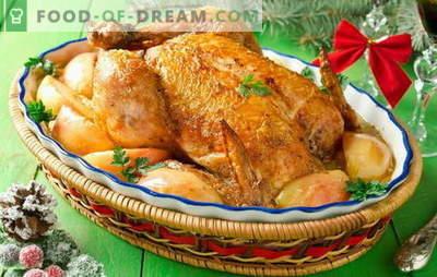 Kurczak z jabłkami w piekarniku - to nie żart! Przepisy o smaku kurczaka z jabłkami w piekarniku: całe i plasterki