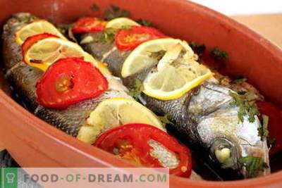 Ryby pieczone w piekarniku - najlepsze przepisy. Jak gotować ryby w piekarniku.