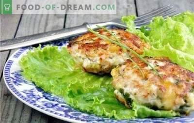 Pokrojone kotlety z piersi kurczaka: podstawy tradycji kulinarnych. Przepisy na kotlety z mielonego piersi z kurczaka na każdy gust