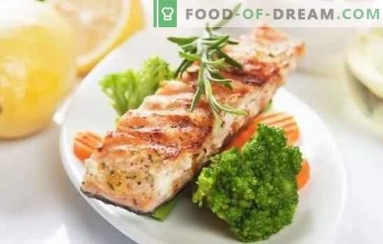 Bistecca di pesce - vista spettacolare, gusto sfizioso! Ricette di bistecche di pesce in una padella antiaderente, in forno con diversi sottaceti e prodotti