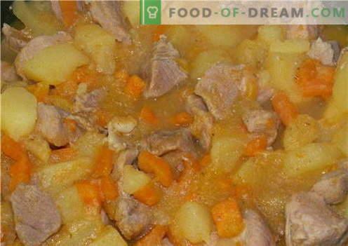 Ziemniaki z mięsem - najlepsze przepisy. Jak prawidłowo i smacznie gotować ziemniaki z mięsem.