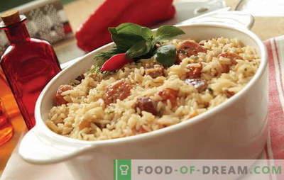 Co gotować ryż z mięsem w piekarniku? Pomysły na inspirację kulinarną: przepisy na potrawy z ryżu z mięsem w piekarniku