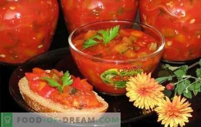 Кавијар од бугарска пиперка - богата пастрмка! Рецепти за различни кавијар од пиперка: со домати, модри патлиџани, цвекло, морков