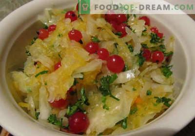 Sałatka marynowana - pięć najlepszych przepisów. Jak prawidłowo i smacznie gotować marynowaną sałatkę.