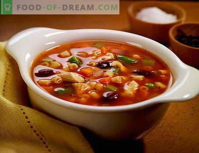 Zupa Solanka - najlepsze przepisy. Jak prawidłowo i smacznie zupa zupa.