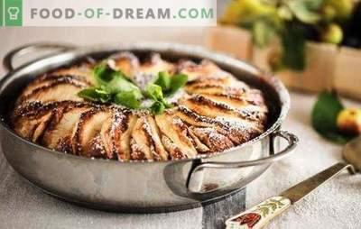 Charlotte Cheese Cheese z jabłkami - najbardziej delikatne ciasto. Jak zrobić sernik z jabłkami w piekarniku i wolną kuchenkę