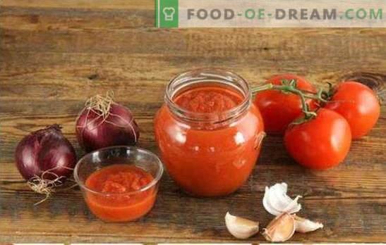 Szlifowanie pomidorów na zimę to najlepszy sposób na przetworzenie całej uprawy. Najlepsze przepisy na pomidory przez maszynkę do mięsa na zimę