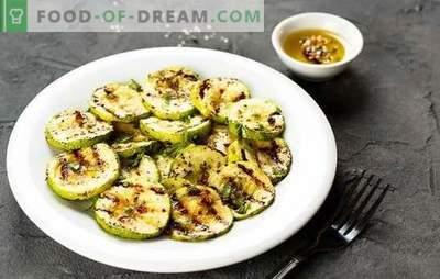 Grillowany squash - potrawa dla wegan i jedzących mięso! Przepisy na soczystą i aromatyczną grillowaną cukinię z sosami, piklami, serem, czosnkiem