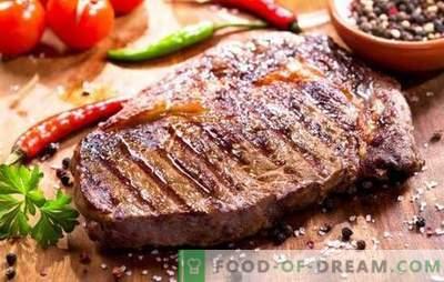 Jak smażyć stek wieprzowy na patelni z czosnkiem, przyprawami i musztardą. Na patelni smażymy soczysty stek wieprzowy!