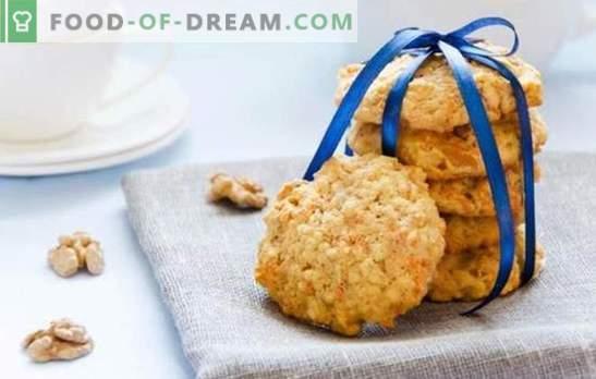Jak zrobić ciasteczka owsiane bez dodawania jaj? Upieczmy ciasteczka owsiane bez jaj z nasionami, miodem, dżemem, jabłkami