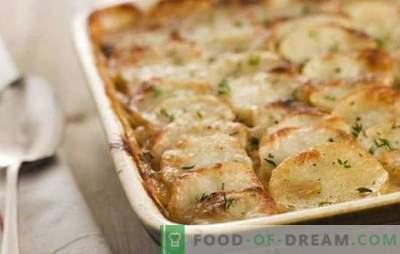 Ziemniaki z majonezem w piekarniku - niezbyt użyteczne, ale niezwykle proste i smaczne. Najlepsze przepisy na majonezowe ziemniaki w piekarniku