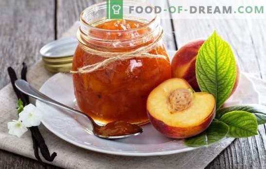 Нектаринови консерви - ароматният вкус на лятото. Рецепти за приготвяне на нектариново сладко: традиционни, с кафе, ванилия, канела