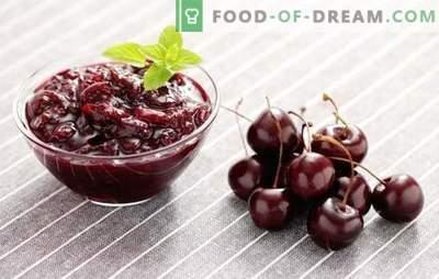 Słodki dżem wiśniowy to delikatne przygotowanie na zimę. Przepisy na słodki dżem: z cytryną, porzeczkami, truskawkami, płatkami róż