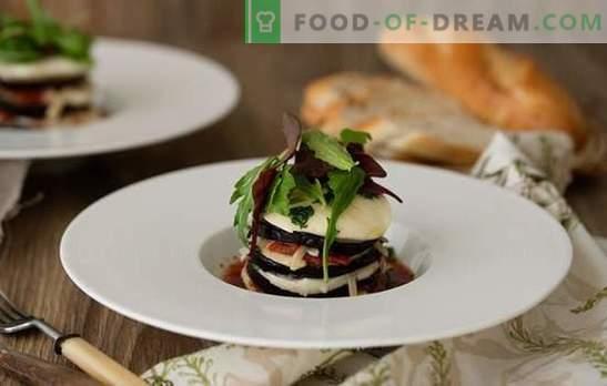 Bakłażany Parmedzhano - włoski Hello! Przepisy warzywne i mięsne znanych bakłażanów Parmedzhano
