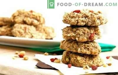 Dietetyczne ciasteczka owsiane - pieczenie może być przydatne! Przepisy dietetyczne ciasteczka owsiane z twarogiem, jabłkami, rodzynkami