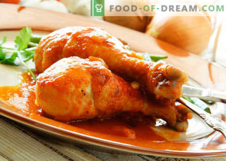Kurczak z miodem - najlepsze przepisy. Jak prawidłowo i smacznie gotować kurczaka z miodem