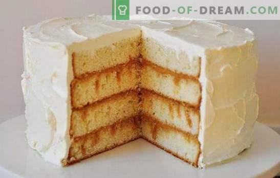 """Szybkie ciasto """"Dairy girl"""" - delikatny domowy deser. Wybór ciastek """"Dairy girl"""" w piekarniku i patelni"""