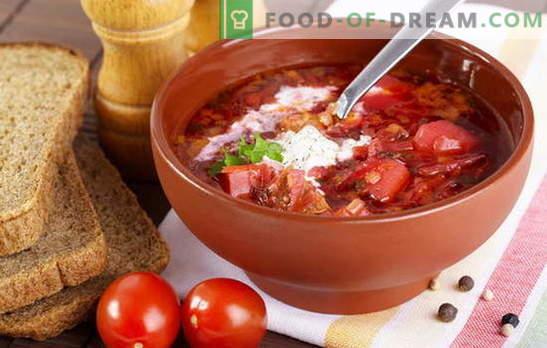 Jak gotować zupę? Naucz wszystkich! Barszcz gotuj z burakami, kapustą kiszoną i świeżą kapustą, fasolą, szczawiem, a możesz z szprotem