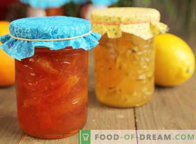 Dżem cytrynowy: jak prawidłowo przygotować dżem cytrynowy