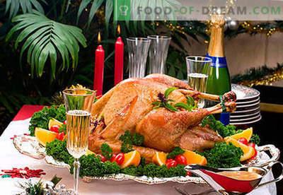 Dania na stole noworocznym - najlepsze przepisy. Jak sprawić, aby kolacja sylwestrowa była naprawdę uroczysta.