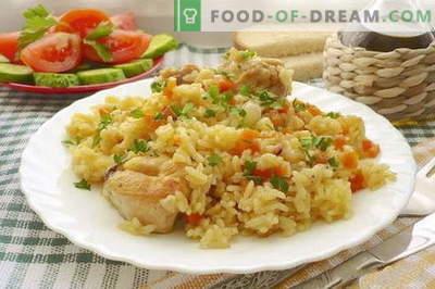 Pilaf wieprzowy - najlepsze przepisy. Jak prawidłowo i smacznie gotować pilaw z wieprzowiny.
