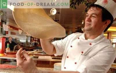 Ciasto do pizzy jak w pizzerii jest delikatną rzeczą, kocha męskie dłonie! Cechy ciasta do pizzy z pizzerii i tajemnice jego siły