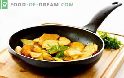 Dla mistrzów i nowicjuszy: jak smażyć ziemniaki na patelni. Babcie powiedzą ci, jak smażyć ziemniaki ze skórką na patelni