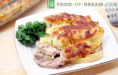 Wieprzowina po francusku z ziemniakami - pyszne! Przepisy na wieprzowinę po francusku z ziemniakami: w piekarniku, wolna kuchenka, na patelni
