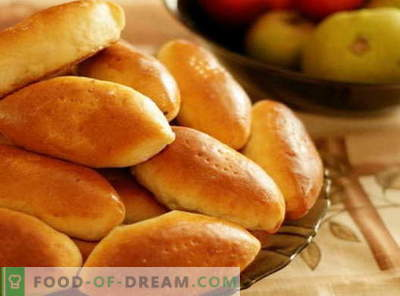 Paszteciki Kefir są najlepszymi przepisami. Jak prawidłowo i smacznie gotować ciasta na kefir.