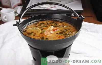 Tajska zupa - egzotyczna w twojej kuchni. Przepisy tajskiej zupy z wołowiną, rybą, kurczakiem, owocami morza, warzywami i pieczarkami