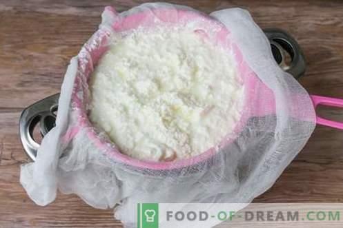 Ser lub ser feta w domu. Jak zrobić domowy ser jest smaczny i niedrogi.