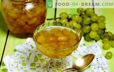 Užpildykite sandėliuką - vynuogių uogienę su duobėmis. Praturtinkite savo receptus su vynuogėmis ir džemais