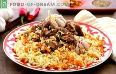 Узбекистански пилаф (чекор по чекор рецепт) е традиционално ориентално јадење. Чекор по чекор рецепти за узбечки пилаф со говедско месо и свинско месо