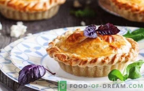 Ciasto serowe - delikatne aromatyczne wypieki. Przepisy na otwarte i zamknięte serki Adygei