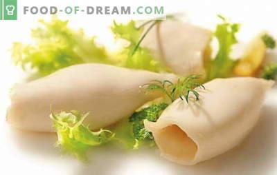 Jak gotować kalmary do sałatek i innych potraw? Ile gotować kalmary, żeby były miękkie i przyjemne w smaku?