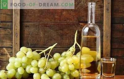 """Wódka na winogronach - technologia nalewek domowej roboty z """"niespodzianką"""". Nalewka z winogron na wódkę - przepisy bez surowych przepisów"""