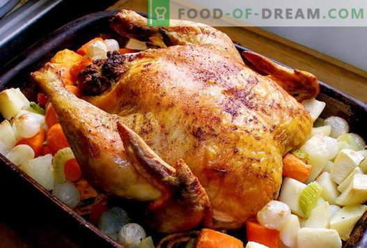 Kana ahjus - parimad retseptid. Kuidas valmistada kana ahjus.