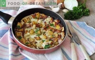 Omlet cebulowy - pikantne śniadanie dla całej rodziny. Najlepsze przepisy na jajecznicę z cebulą na patelni, w wolnej kuchence i piekarniku