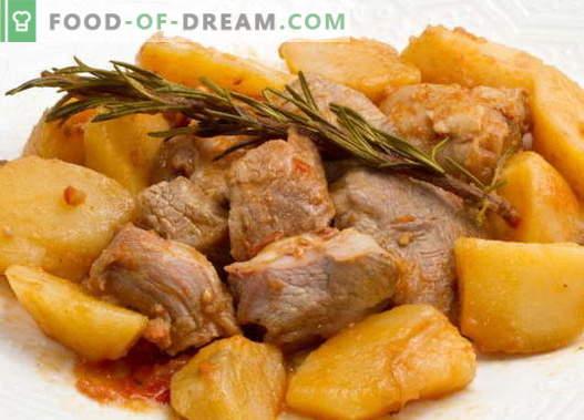 Duszone ziemniaki z mięsem to najlepsze przepisy. Jak właściwie i smacznie gotować gulasz z mięsem.