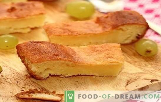 Ciasto na kwaśne mleko - wszystko genialne jest proste. Przepisy na ciasto w kwaśnym mleku w piekarniku i wolnej kuchence