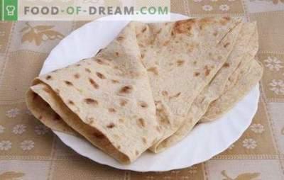 Chleb Pita w domu - przepis na różne płaskie ciasta. Przydatne wskazówki i przepisy na chleb pita w domu