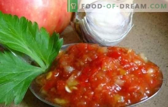 Zucchini Adjika: oryginalne odmiany znanej przekąski. Zebraliśmy dla Ciebie najsłynniejsze receptury adjika z cukinii