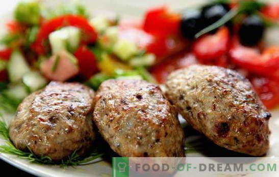 Domowe paszteciki mięsne - reszta półproduktów! Gotowanie soczystych i aromatycznych pasztecików z mielonego mięsa: najlepsze przepisy
