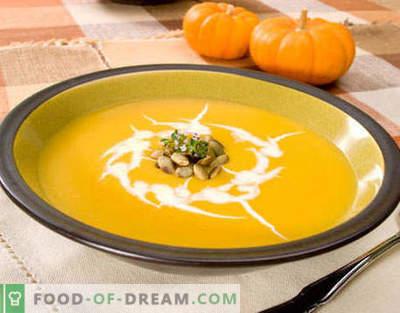 Pumpkin Soup - najlepsze przepisy. Jak prawidłowo i smacznie gotować zupę z dyni.